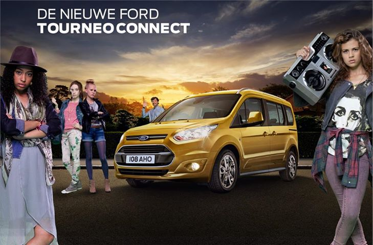 Nieuwe Ford Tourneo Connect