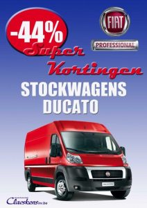 Fiat Ducato stockwagen