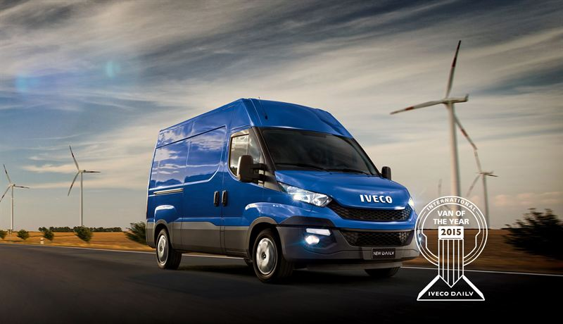 New Iveco daily Van Of The Year