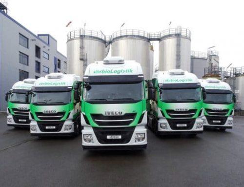 IVECO levert duizendste Stralis NP 400 bij VERBIO, het eerste CO2-neutrale voertuigenpark van Duitsland dat rijdt op biogas geproduceerd op basis van stro