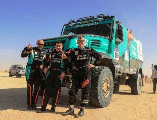 IVECO domineert de Africa Eco Race 2018 in het vrachtwagensegment en sluit af met de zege van Gerard De Rooy van Team PETRONAS De Rooy IVECO.